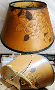 Paper Lamp Shade Restoration