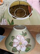 Paper Chimney Lamp Shade Repair