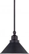 "Bridgeview ORB Bronze Mini Pendant 8""Wx45""H"