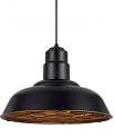"Bronze Warehouse Pendant Light Metal Guard 16""W - Sale !"