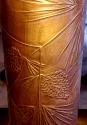 "Vintage Pine Cones & Pine Needles Copper Table Lamp 27""H"