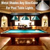 Pool Table Light Metal Lamp Shades