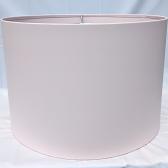 """Chalk Pink Metal Drum Lamp Shade 4-96""""W"""
