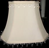 Add Beads or Fringe To Any Rectangle Lamp Shade