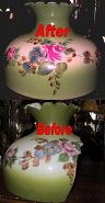 Custom Hurricane Lamp Glass Replacement