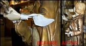 Before and After Marbro Repair Close-up