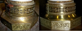 Refinished Brass Bases Were Tarnished & Pitted