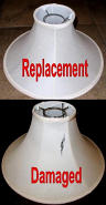 Restore Chimney Lamp Shade
