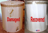 Drum Lamp Shade Repair