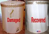 Recover Stiffel Lamp Shade