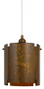 "Rochefort Drum Pendant Light 10""Wx10""H"