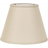 "Beige Linen Lamp Shade 16""W - Sale !"