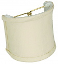 "Cream Silk Sconce Shade 4""W"