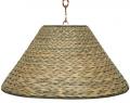 """Sea Grass Swag Lamp 20-23""""W"""