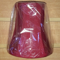 "Burgundy Red Sconce Shade 5""H"