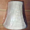 "Smock Pleated Sconce Shade 5""H"