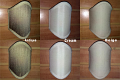 "Shield Shape Sconce Shades 4""Wx5.75""H"