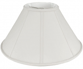 "Tapered Coolie Lamp Shade 16-24""W"