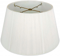 "6 Way Floor Lamp Silk String Lamp Shade Off White 19""W"