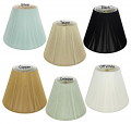 "Empire Silk String Lamp Shades 6 Colors 8-20""W"