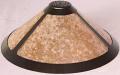 """Vented Cap Dirk Van Erp Silver Mica Lamp Shade 14-20""""W"""