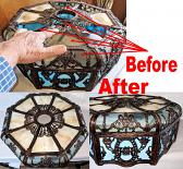 Miller Slag Repair Glass & Framework