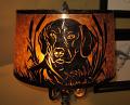 Custom Mica Floor Lamp Shade