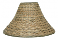 "Bell Seagrass Lamp Shade 18""W"