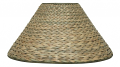 "Seagrass Coolie Lamp Shade 20-23""W"