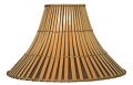 "Split Bamboo Lamp Shade 16-20""W"