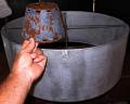 Drum & Rust Metal Chandelier Lamp Shade