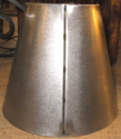 Metal Lamp Shade Standing Rib Seam