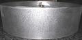 Short Drum Raw Metal Lamp Shade