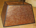 Large Rectangle Mica Lamp Shade