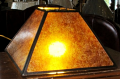 "Square Mica Lamp Shade 4-96""W"