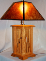Custom Mica Lamp Shade For Wood Lamp