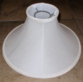"Silk Chimney Shade 12-14""W"