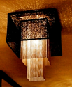 Custom Cube Lamp Shade Pendant Light