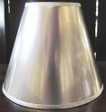 "Silver Empire Paper Lamp Shade 4-20""W"