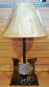 "Personal Name or Company Logo Lamp 25""H"