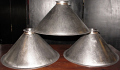 Custom Cone Shape Metal Billiard Light Shades USA Made