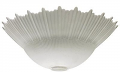 """White Frost Torchiere Lamp Shade 14""""Wx5.5""""H"""