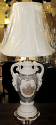 "George & Martha Washington Lamp 25""H SOLD"
