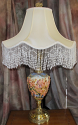 "Nude Maidens Antique Capodimonte Lamp 27""H SOLD"