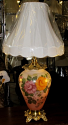 "Antique Hurricane Lamp Vintage 1930 35""H SOLD"