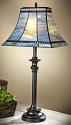 "Mission Lamp 563-3, Table Lamp 31""Hx14.5""W; Floor Lamp 62""Hx14.5""W"