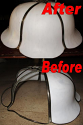 Unique Shape Slag Lamp Shade Repair