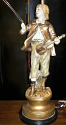 Front View Marbro Boy Statue Completed Repair