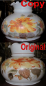 Glass Shade Original & Hand Painted Replacement Copy