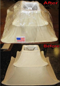 Pagoda Lamp Shade Recovered
